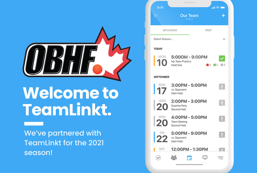 The OBHF Announces Partnership with Canadian Software Company TeamLinkt