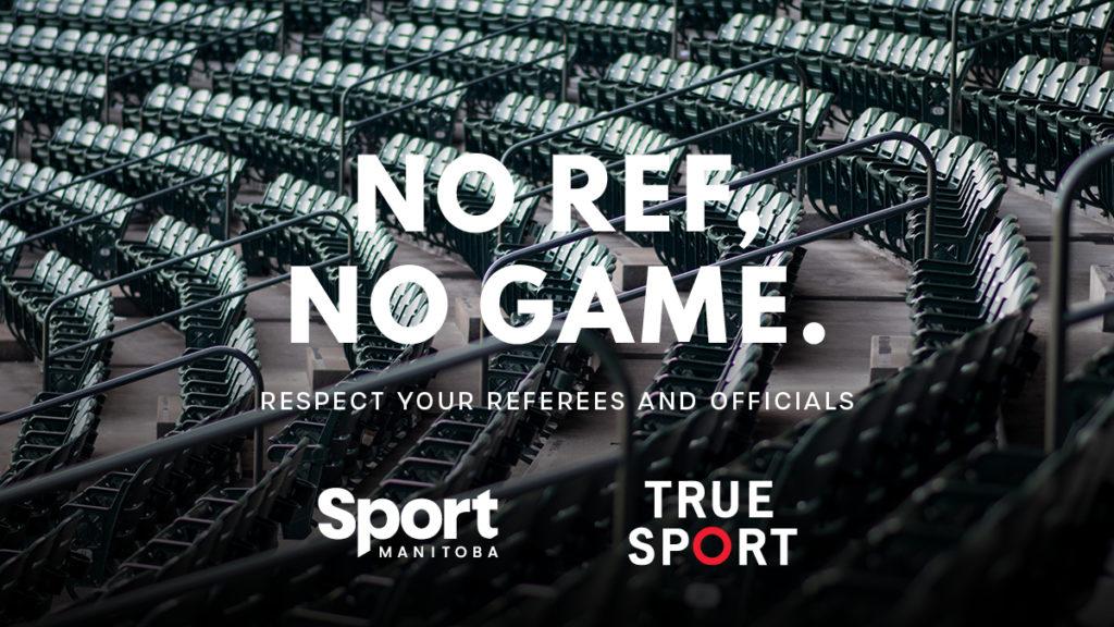 NO REF – NO GAME